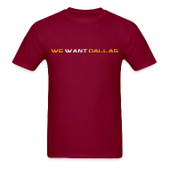 T-Shirts ~ Men's T-Shirt ~ We Want Dallas 2011 T