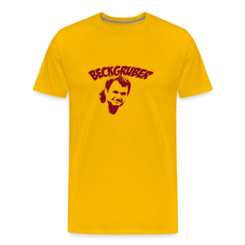 Beckgruber Gold - Men's Premium T-Shirt