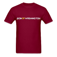 T-Shirts ~ Men's T-Shirt ~ Son of Washington Tee (Burgundy)