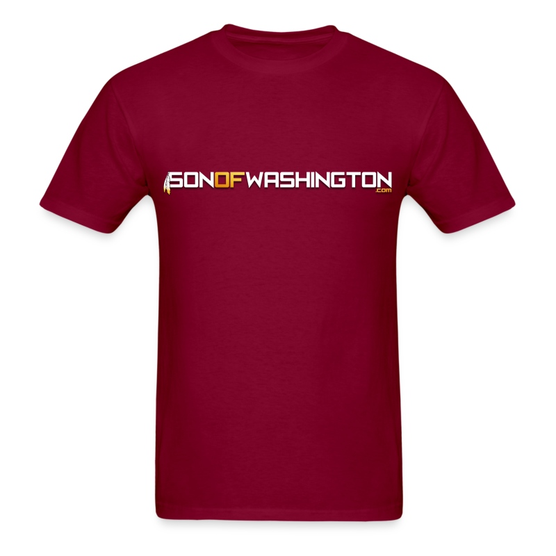 Son of Washington Tee (Burgundy) - Men's T-Shirt