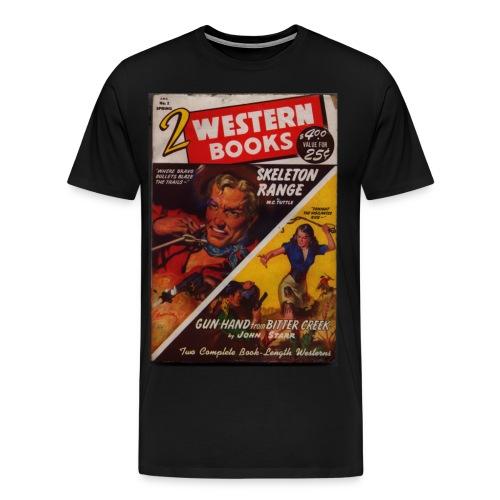 3XL 2 Western Books spr/49 - Men's Premium T-Shirt