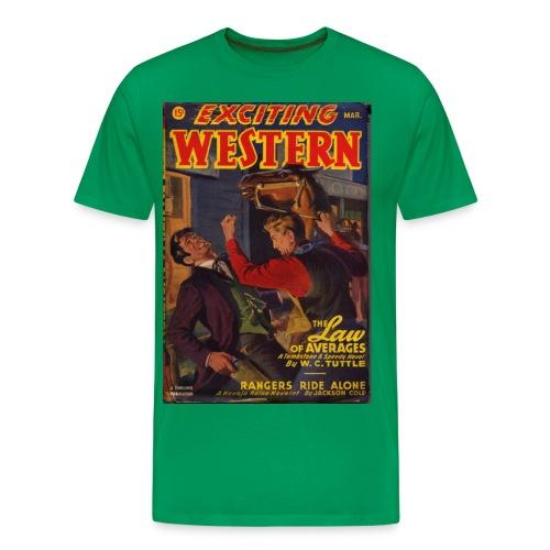 3XL Exciting Western 3/47 Tuttle - Men's Premium T-Shirt