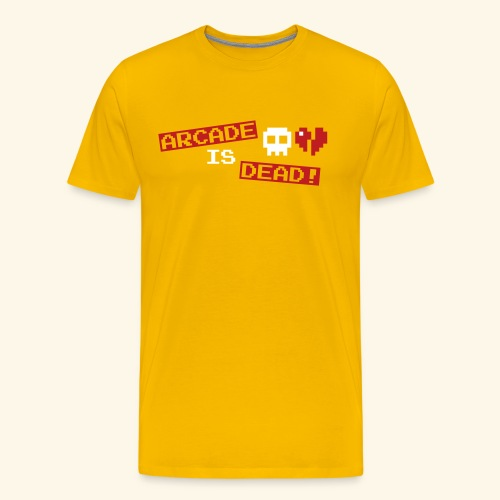 Arcade is Dead - Men's Premium T-Shirt