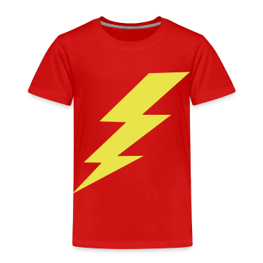 Lightning Bolt Toddler Shirts