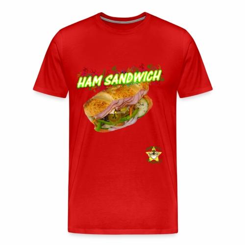 Monkey Pickles Big Ham Sandwich - Men's Premium T-Shirt
