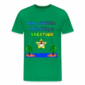 Monkey Pickles Big Goofball Vacation - Men's Premium T-Shirt