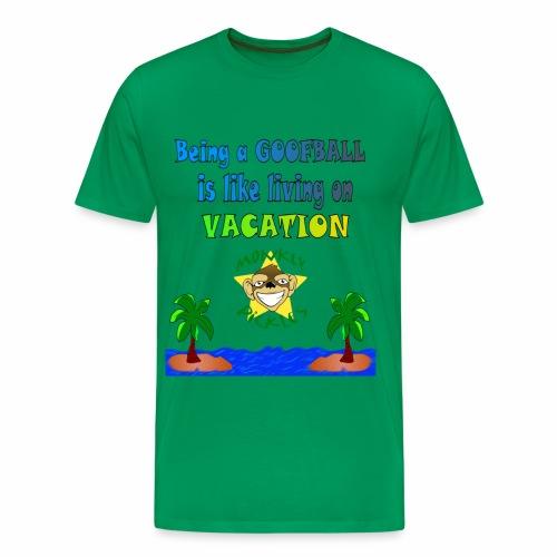 Monkey Pickles Big Goofball Vacation - Men's Premium T-Shirt