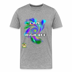 Monkey Pickles Big High Def - Men's Premium T-Shirt