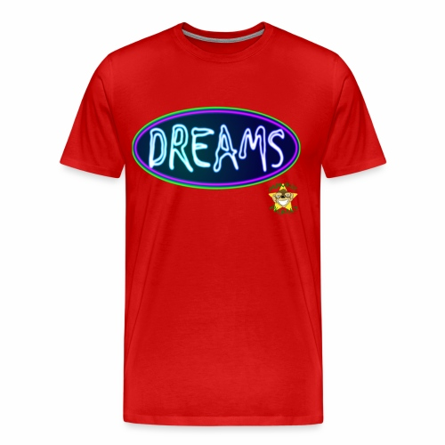 Monkey Pickles Big Dreams - Men's Premium T-Shirt