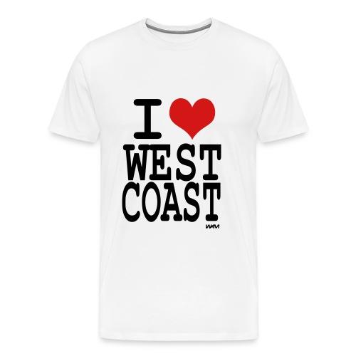 west coast tee-shirt - Men's Premium T-Shirt
