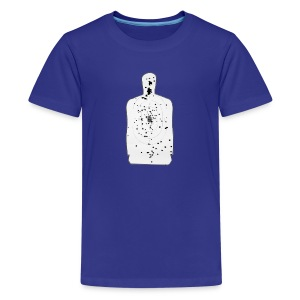 Weapon Blog Target - Kids' Premium T-Shirt