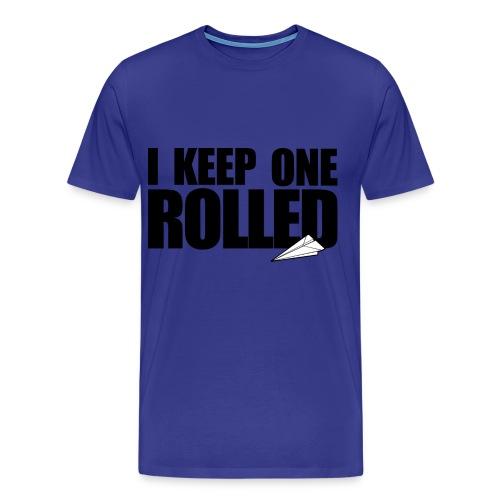 one rolled tee-shirt - Men's Premium T-Shirt