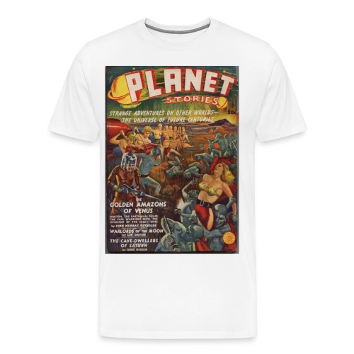 3XL Planet SF Pulp 1st Issue Winter 1939 - Men's Premium T-Shirt