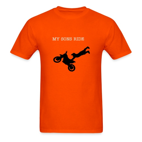 Boys and bikes - Men's T-Shirt