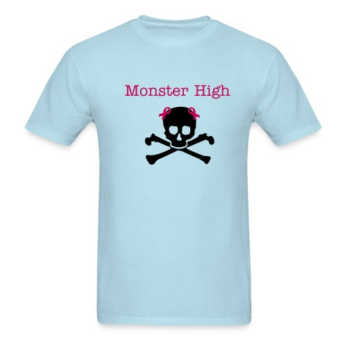 monster high skull and crossbone - Men's T-Shirt