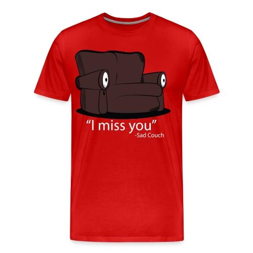 Sad Couch - Men's Premium T-Shirt