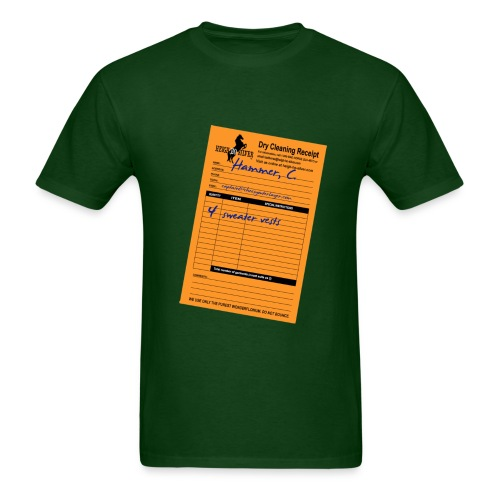 Dry Cleaning Bill - Men's T-Shirt