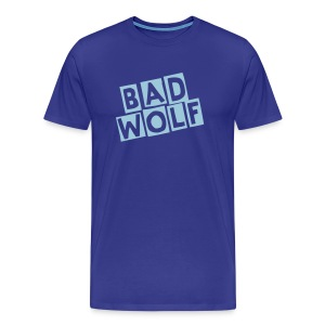 Doctor Who Bad Wolf T-shirt - Men's Premium T-Shirt