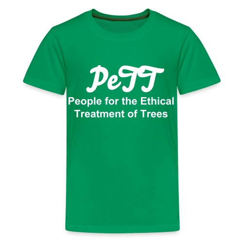 People for the Ethical Treatment of Trees Children's t-shirt - Kids' Premium T-Shirt