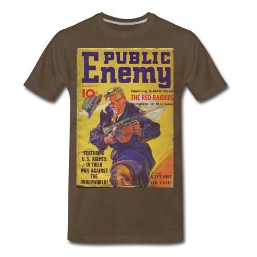3XL Public Enemy 1st Issue Dec 1935 - Men's Premium T-Shirt