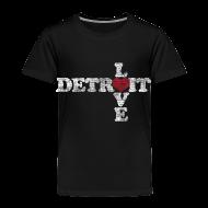Baby & Toddler Shirts ~ Toddler Premium T-Shirt ~ Love Detroit