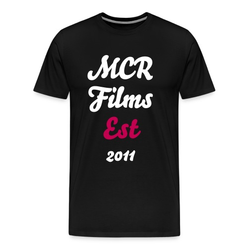 I Heart MCR Films - Men's Premium T-Shirt
