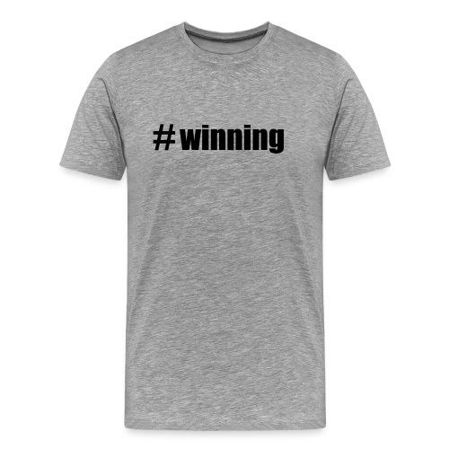 Charlie Sheen Winning - Men's Premium T-Shirt