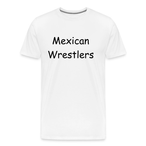 Mexican Wrestlers - Men's Premium T-Shirt