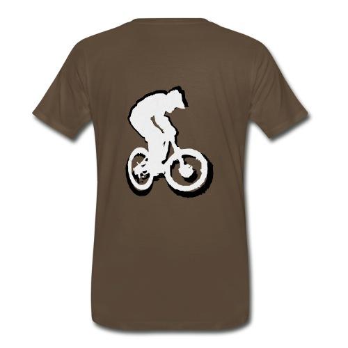 Mountainbike T shirt - Ride on! Colored Tee - Men's Premium T-Shirt