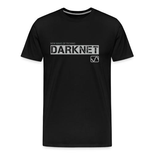 Darknet label t-shirt, black - Men's Premium T-Shirt