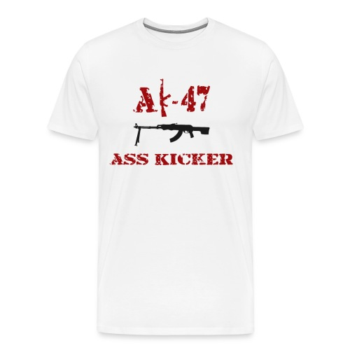 AK-47 Ass Kicker - Men's Premium T-Shirt