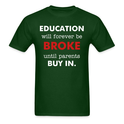 Parental Obligation (Green) - Men's T-Shirt