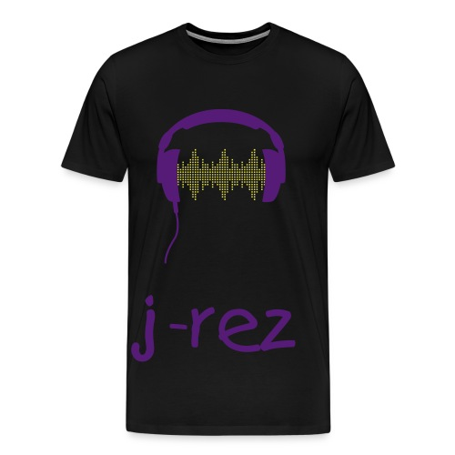 j-rez headphone beats - Men's Premium T-Shirt