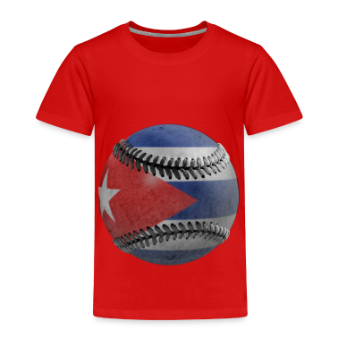 Cuban Baseball Toddler Shirts