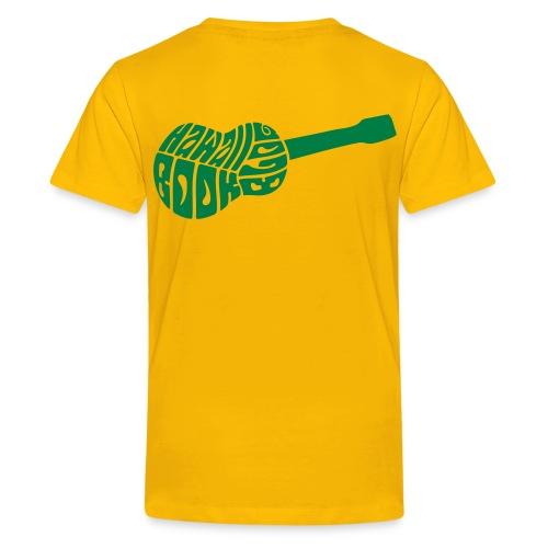 Beginner's Ukulele Cheat Sheet - Kids' Premium T-Shirt