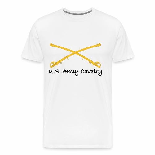 US Army Cavalry Sabers - Men's Premium T-Shirt