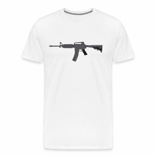 M-4 Rifle - Men's Premium T-Shirt