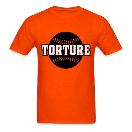 Giants Torture - T-Shirt - Orange - Men's T-Shirt