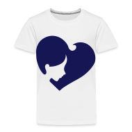 Baby & Toddler Shirts ~ Toddler Premium T-Shirt ~ Heart Face