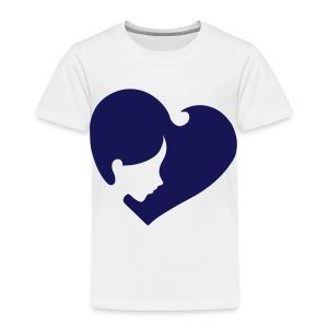 Heart Face - Toddler Premium T-Shirt