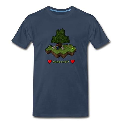 Mine craft Love - Men's Premium T-Shirt