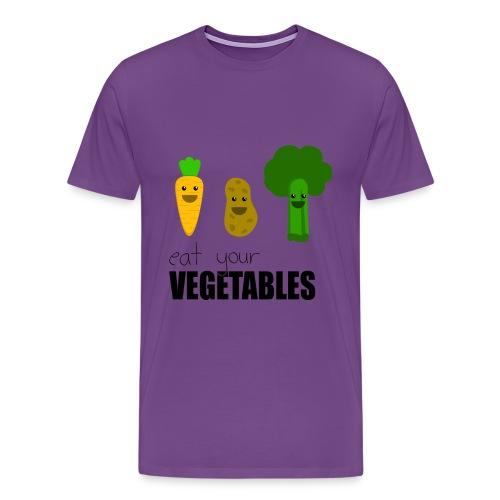 veggies - Men's Premium T-Shirt