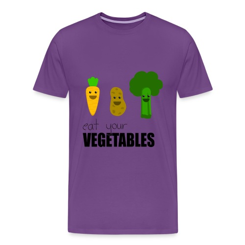 veggies - Men's Premium T-Shirt