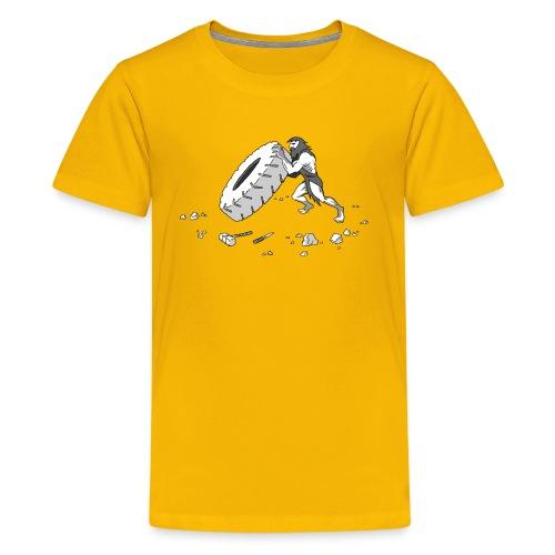 Stone Age Strength (Kids) - Kids' Premium T-Shirt