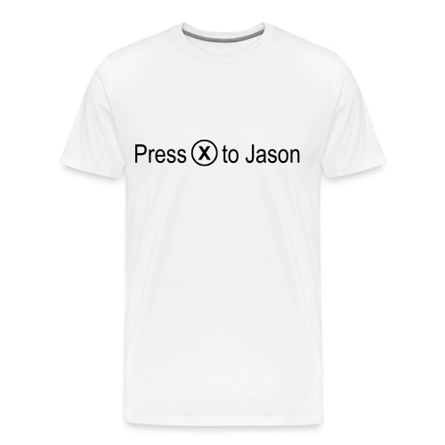 Press x to Jason - Men's Premium T-Shirt