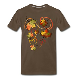 Racing The Autumn Wind - Men's Premium T-Shirt