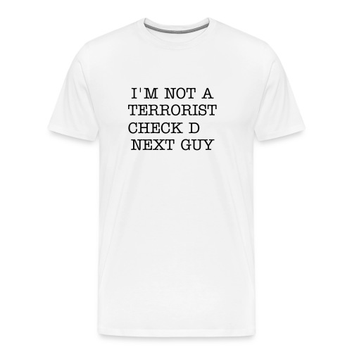 Terrorism is dead - Men's Premium T-Shirt