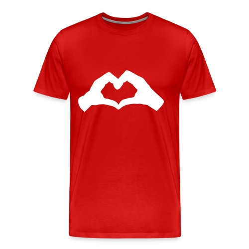 Hand Heart - Men's Premium T-Shirt