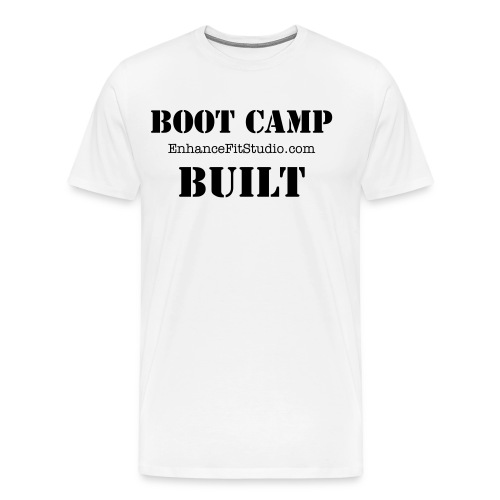 Men's Boot Camp Built - Men's Premium T-Shirt