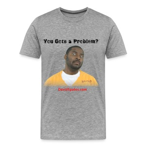 Problem - Porn talk Men's Heavyweight T-Shirt - Men's Premium T-Shirt